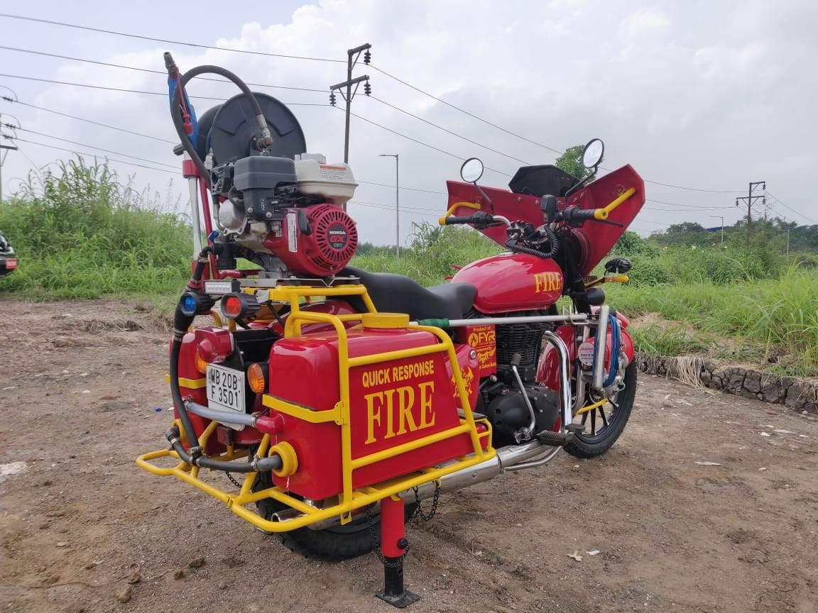 Fire Fighting Bike Royal Enfield Bullet 350 (2)
