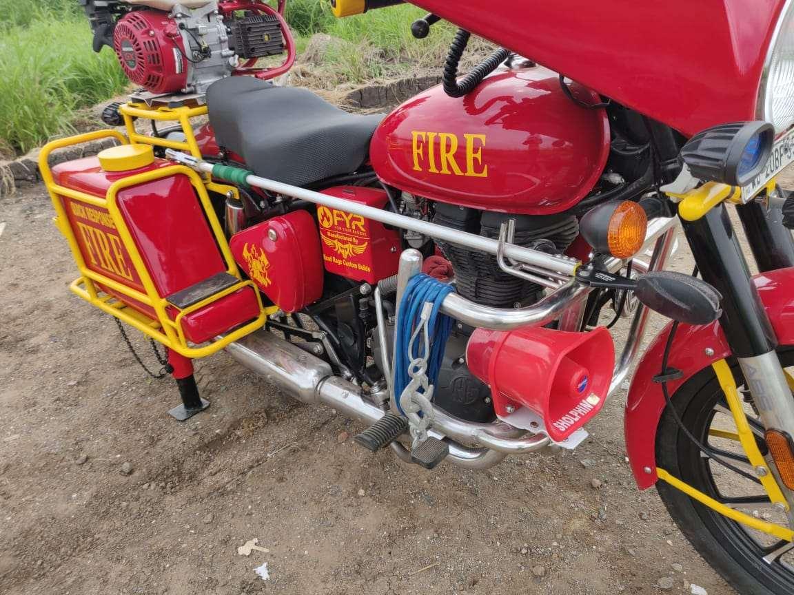 Fire Fighting Bike Royal Enfield Bullet 350 (9)