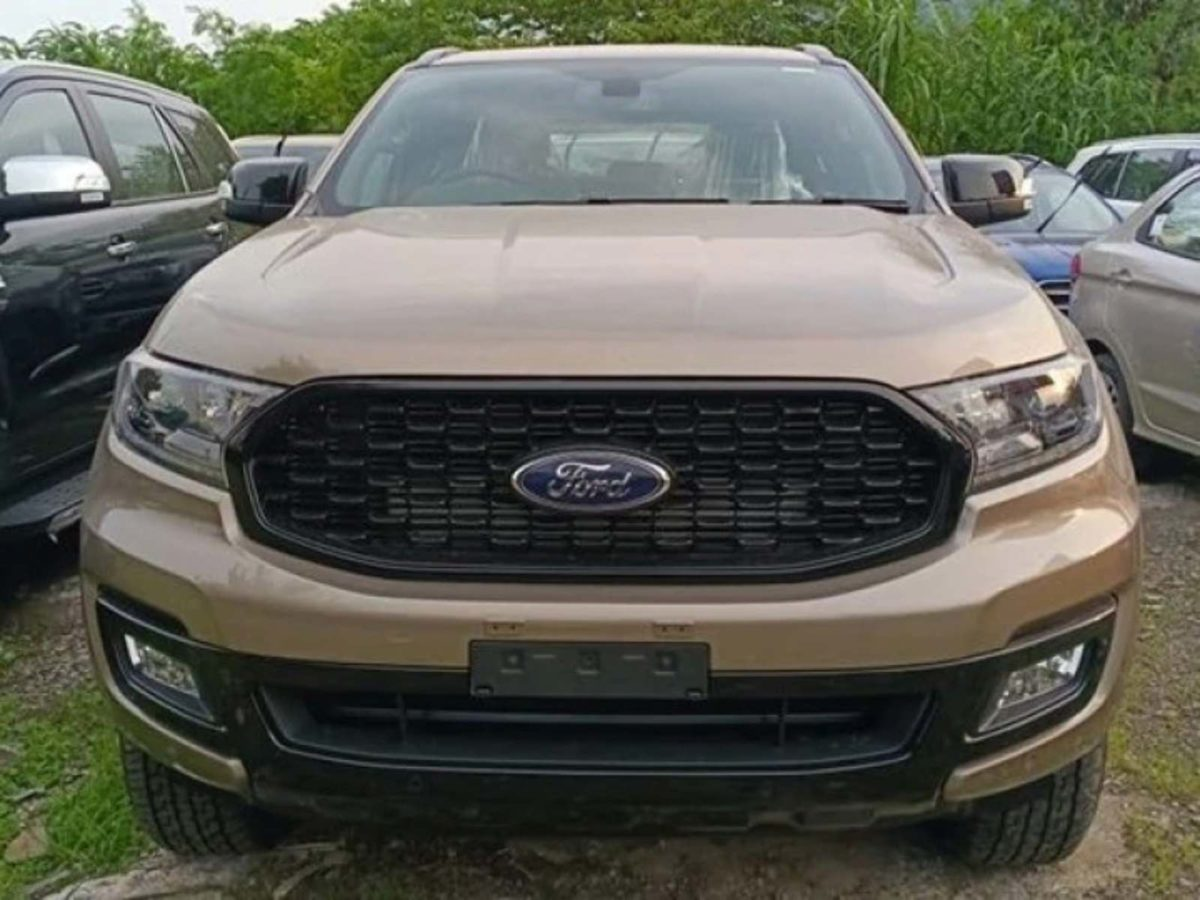 Ford Endeavour Sport new images