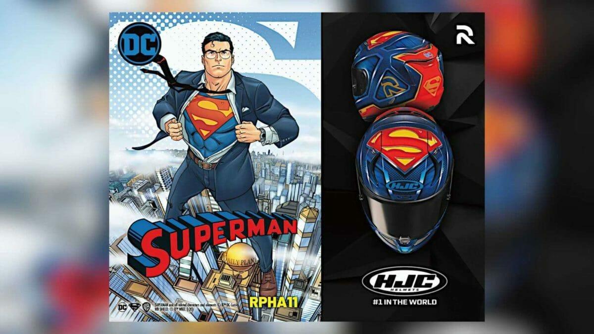 HJC RPHA 11 Pro Superman