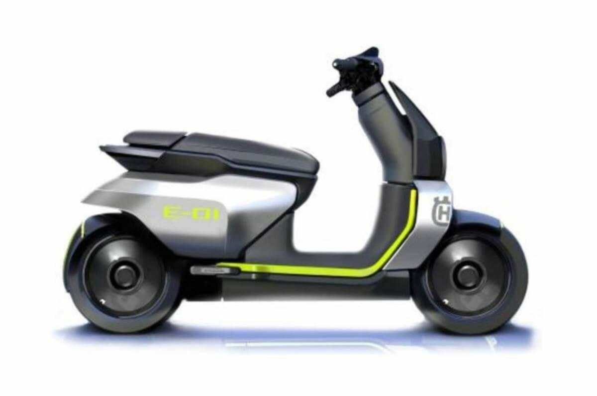 Husqvarna E 01 Electric scooter