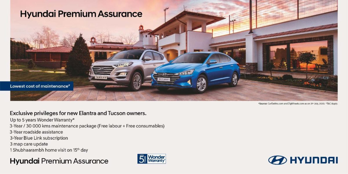Hyundai assurance program Banner