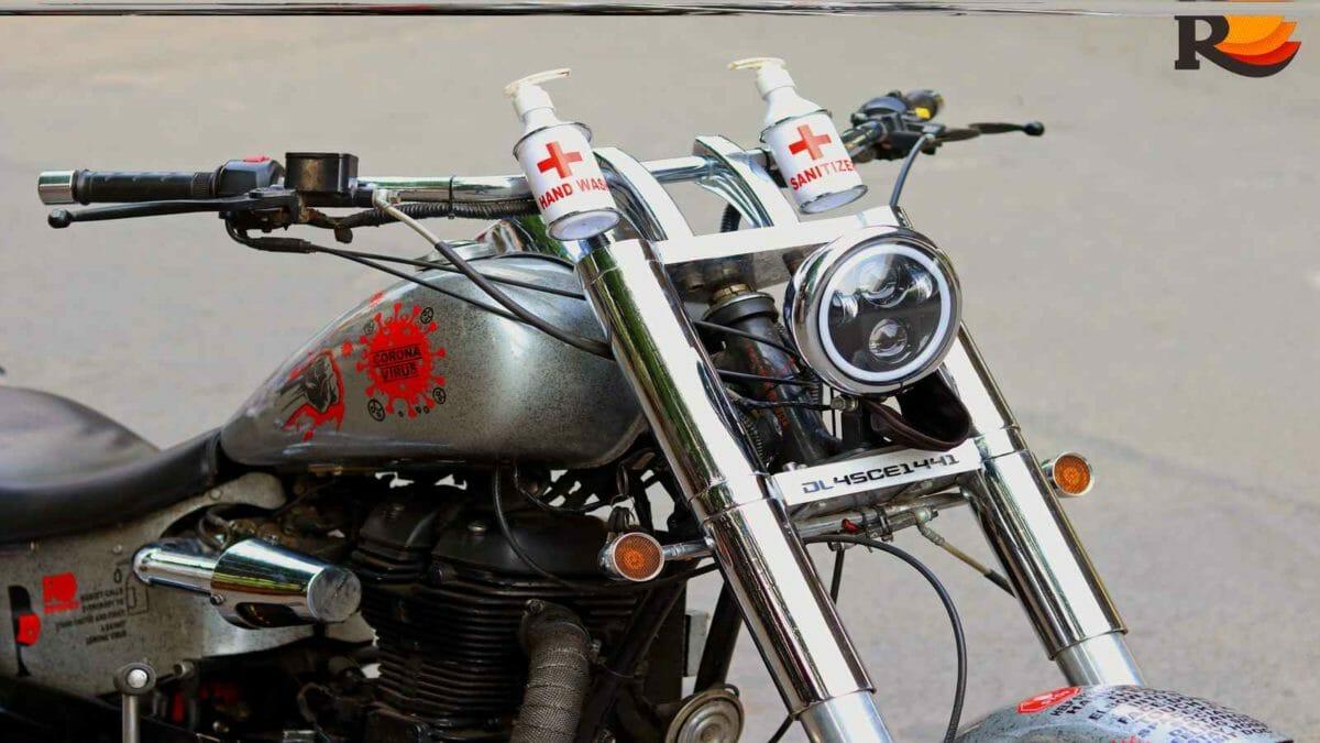 corona warrior bike front