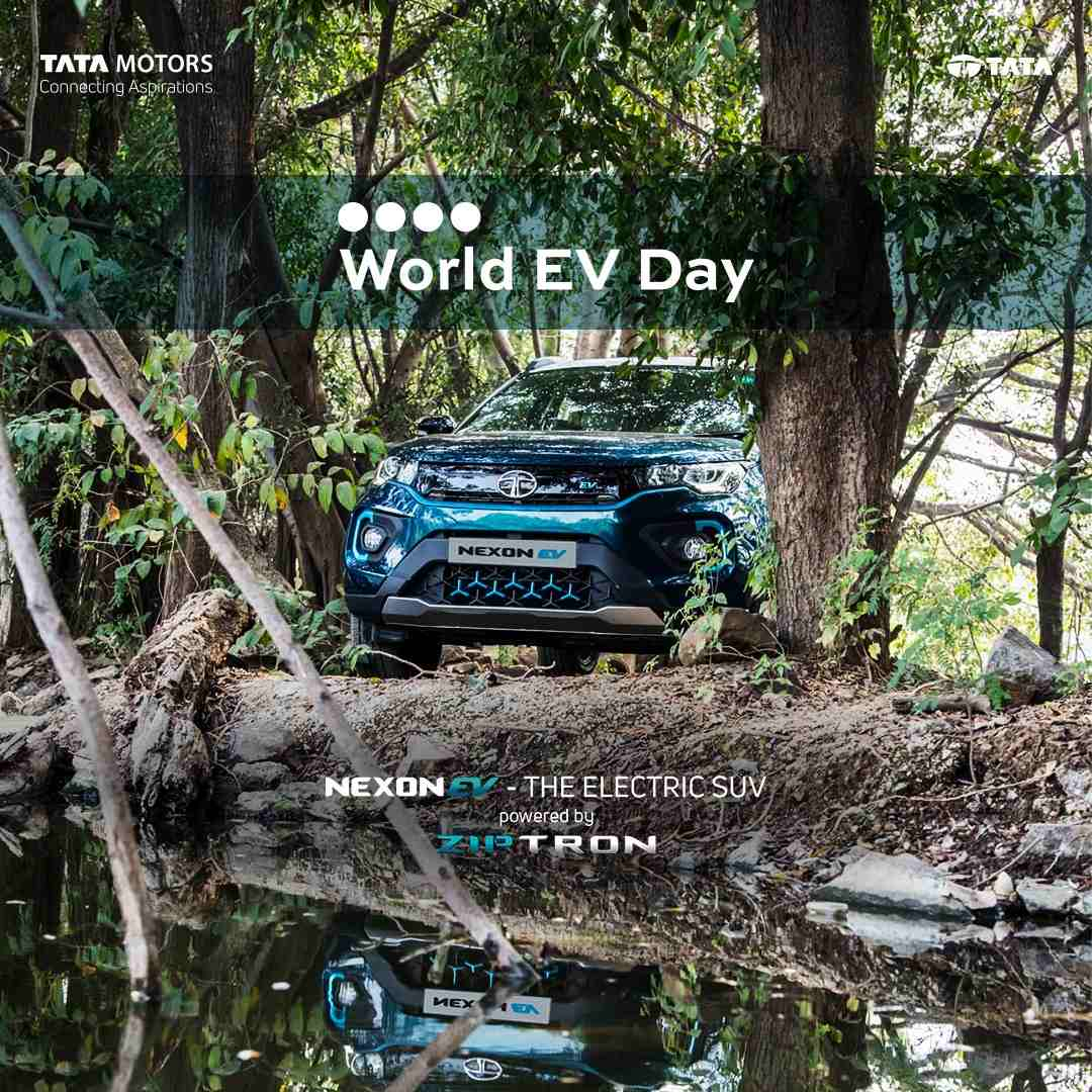 Image – Tata Motors joins the Global #WorldEVDay Movement to celebrate e Mobility