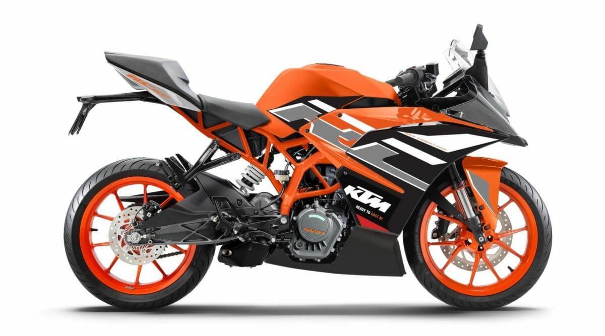 KTM RC New colours