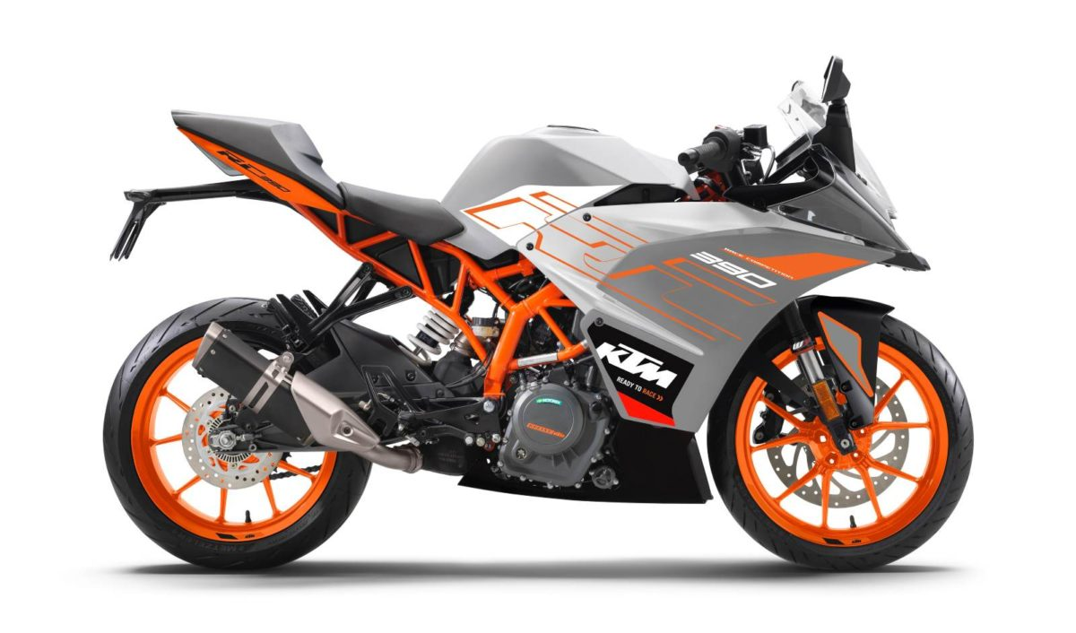 KTM RC 390 New colours