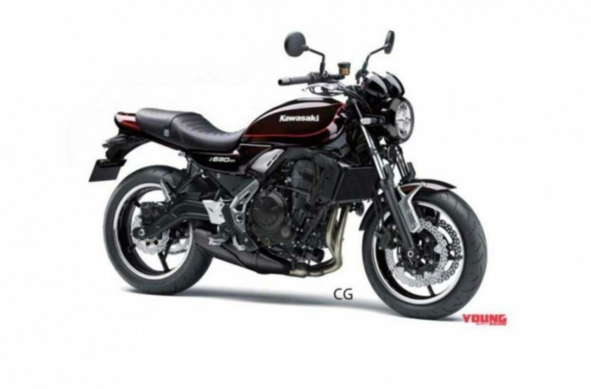 Kawasaki Z650 RS render