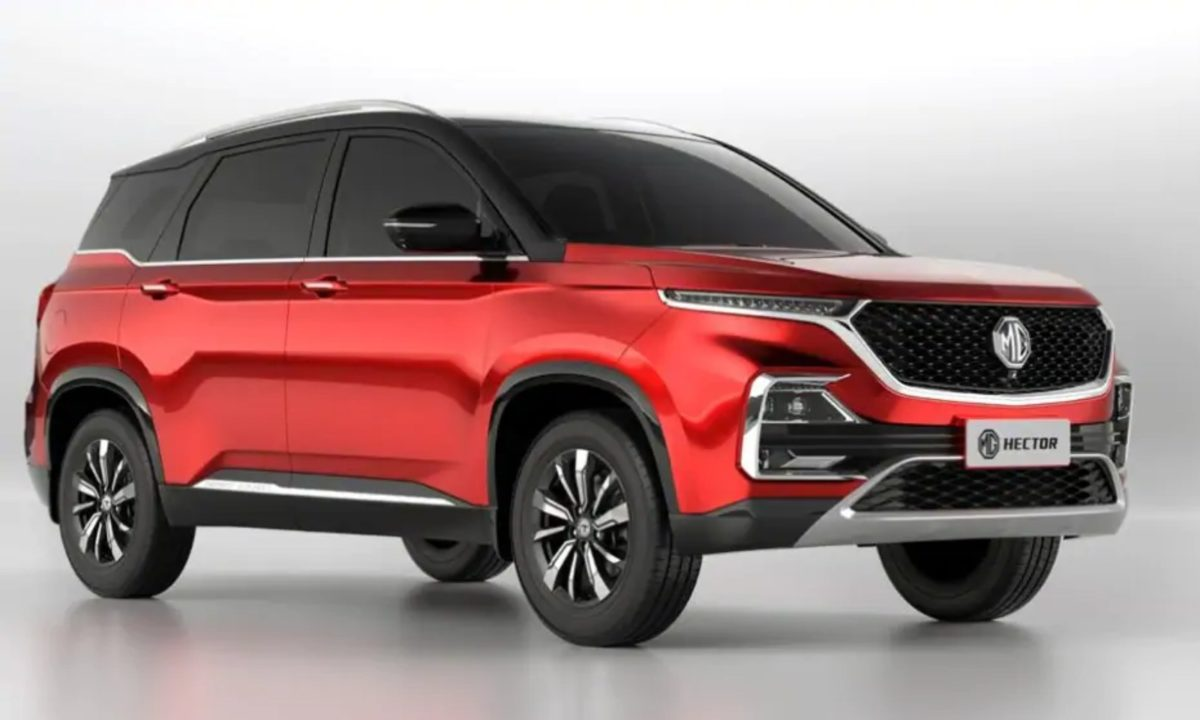 MG Hector Dual colour variant (1)