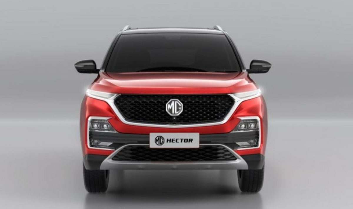 MG Hector Dual colour variant