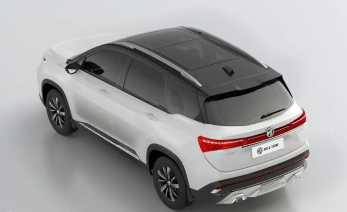 MG Hector Dual colour variant (2)