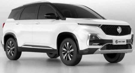 MG Hector Dual colour variant (3)