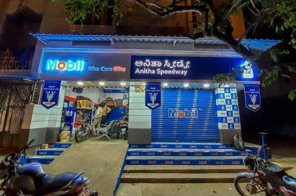 Mobil Bike Care Elite Workship in Bengaluru