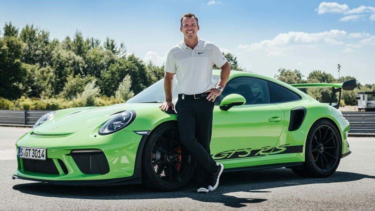 Paul cassey with Porsche