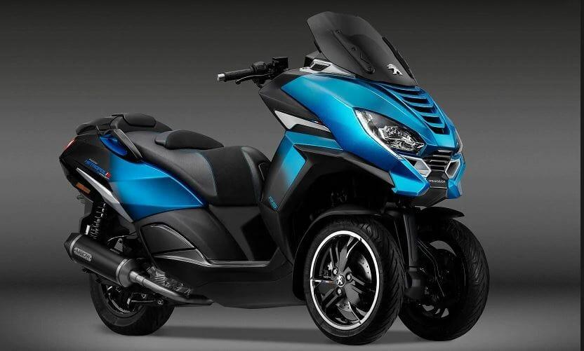 Pigueot maxi three wheel scooter