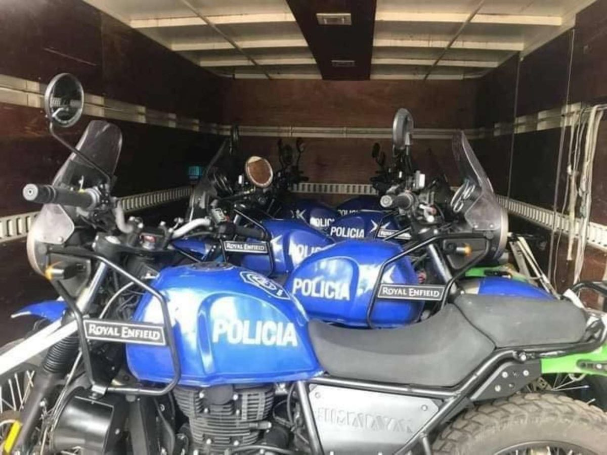 Royal Enfield Argentina Police