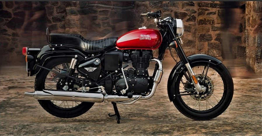Royal Enfield Bullet 350 ES BS6 Red