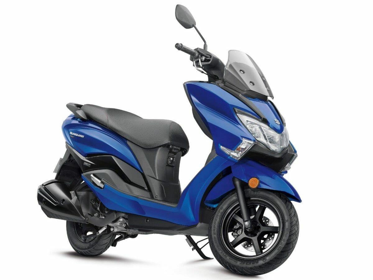 Suzuki Burgman Street Blue