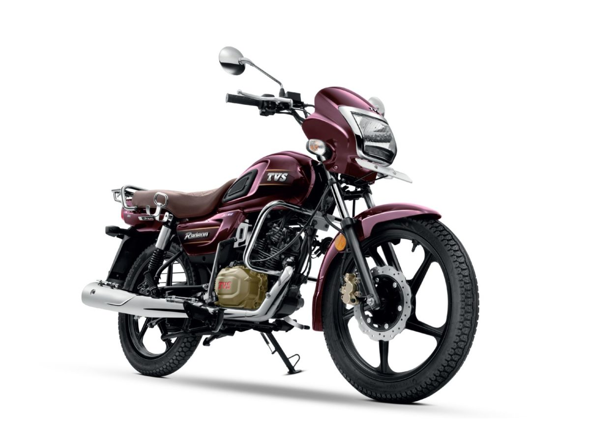 TVS Radeon New colours