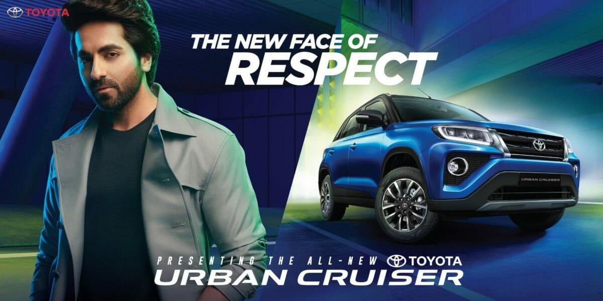 Toyota Urban Cruiser Ayushmann Khurana