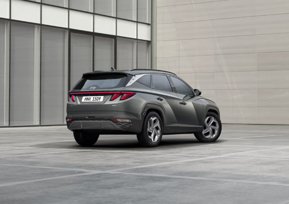 Hyundai Tucson backside