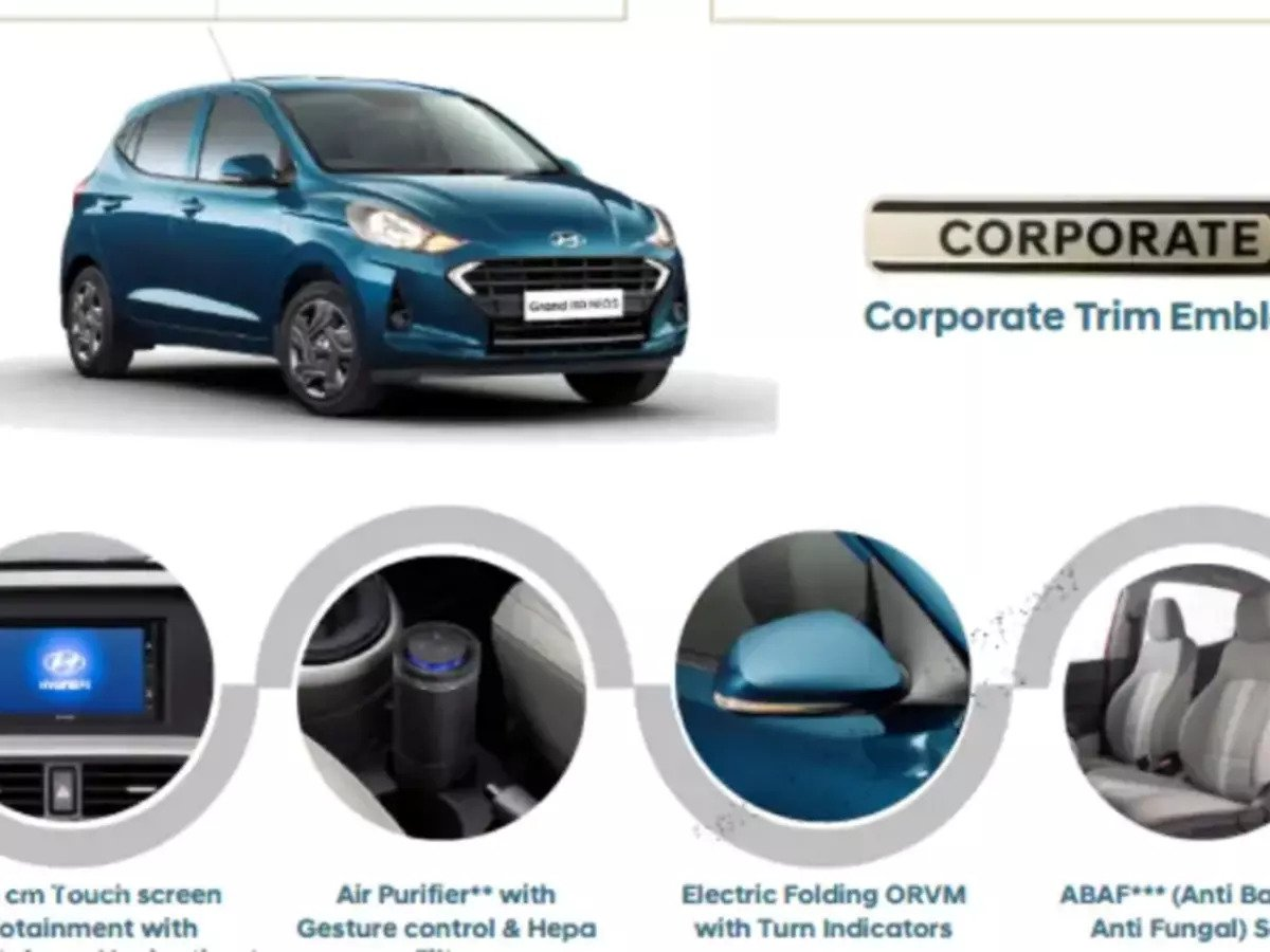 Hyundai i10 NIOS corporate edition feature