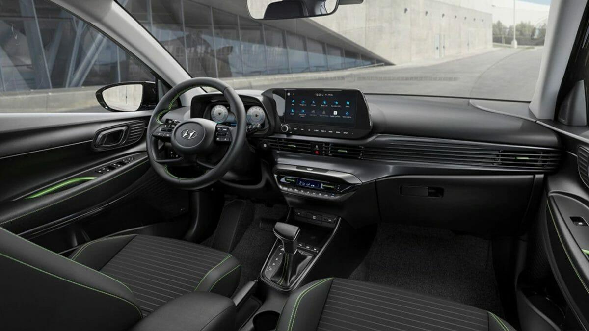 2020 Hyundai i20 Front interior