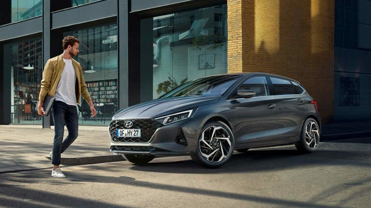 2020 Hyundai i20 profile