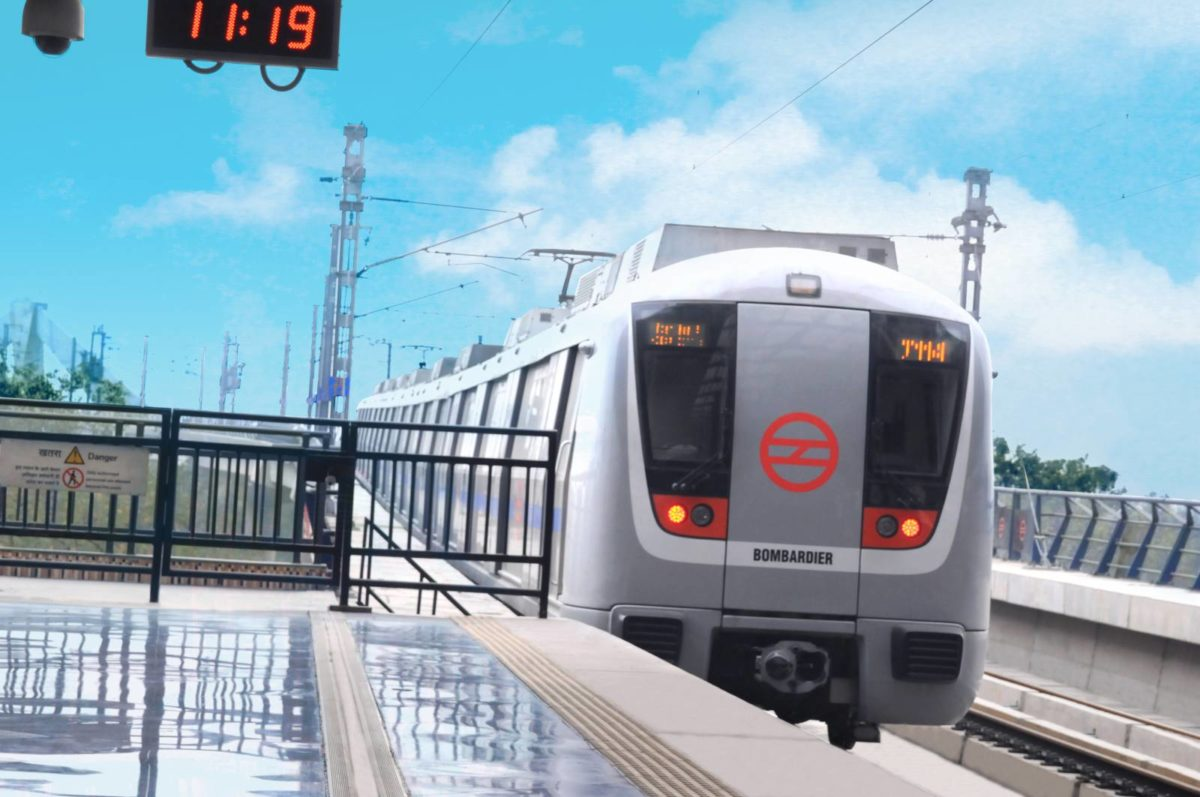 Bombardier Movie Delhi Metro