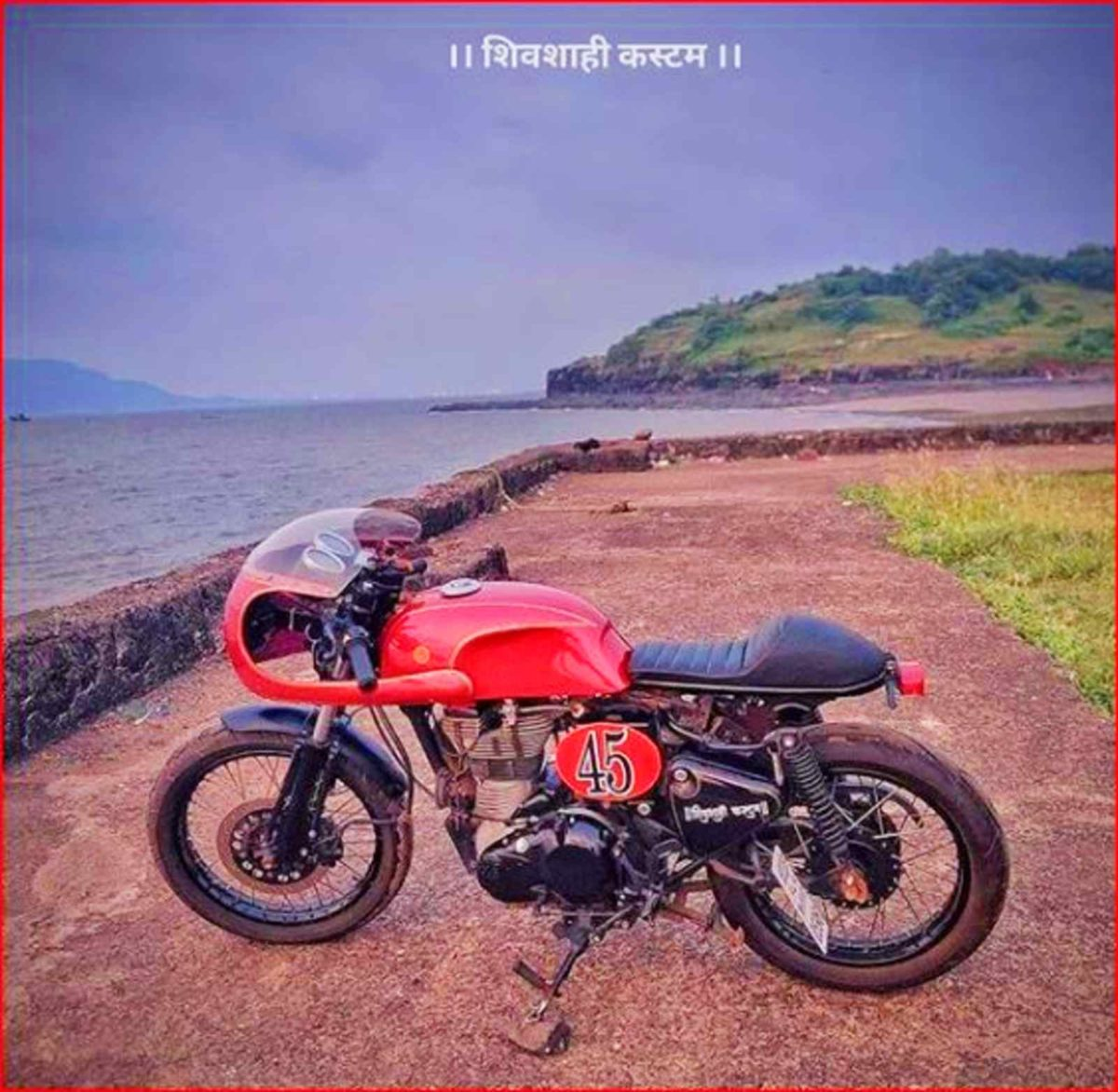 Customized Royal Enfield Classic 350