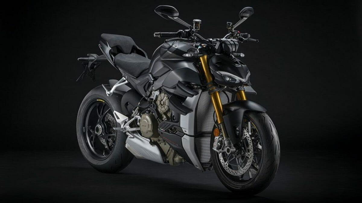 Ducati Streetfighter V4 stealth euro 5