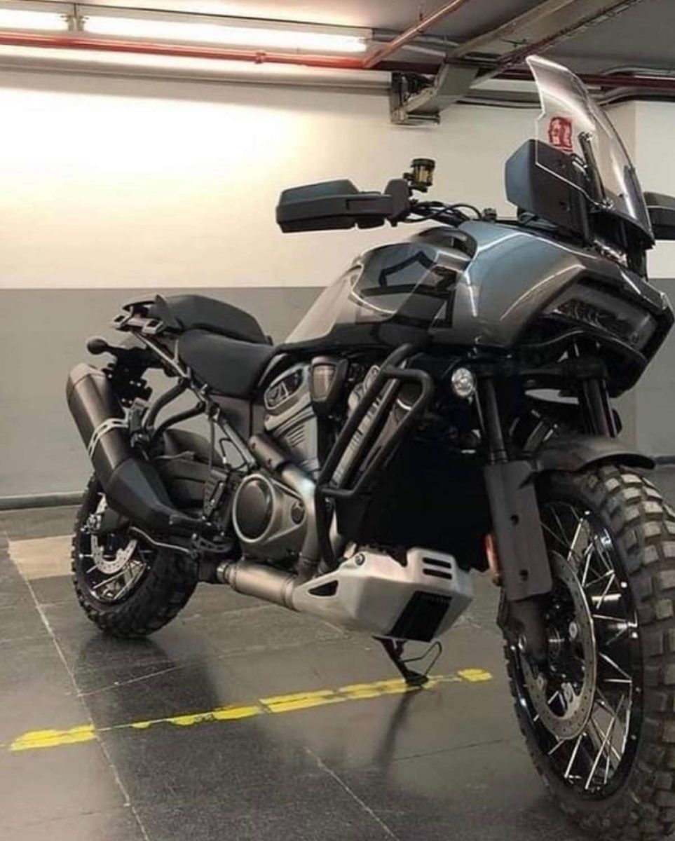 Harley Davidson Pan America Spied
