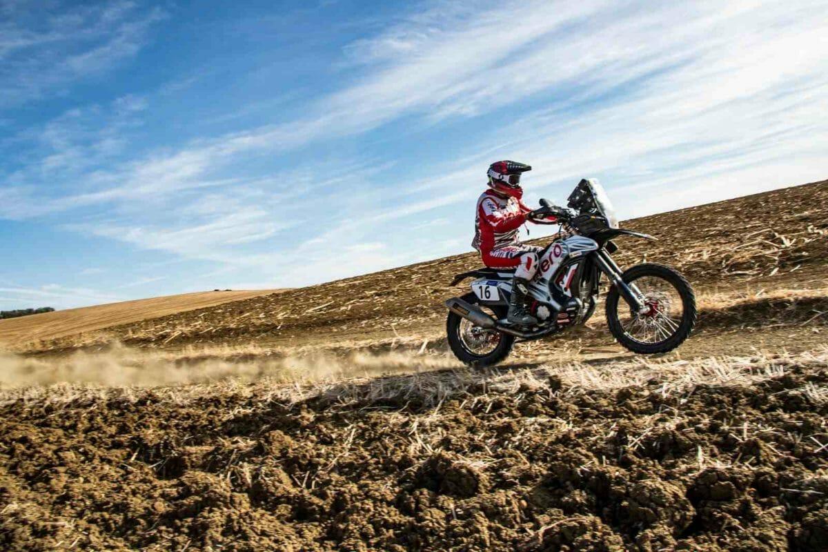 Hero MotoSports Team Rally rider, Sebastian Buhler (1)
