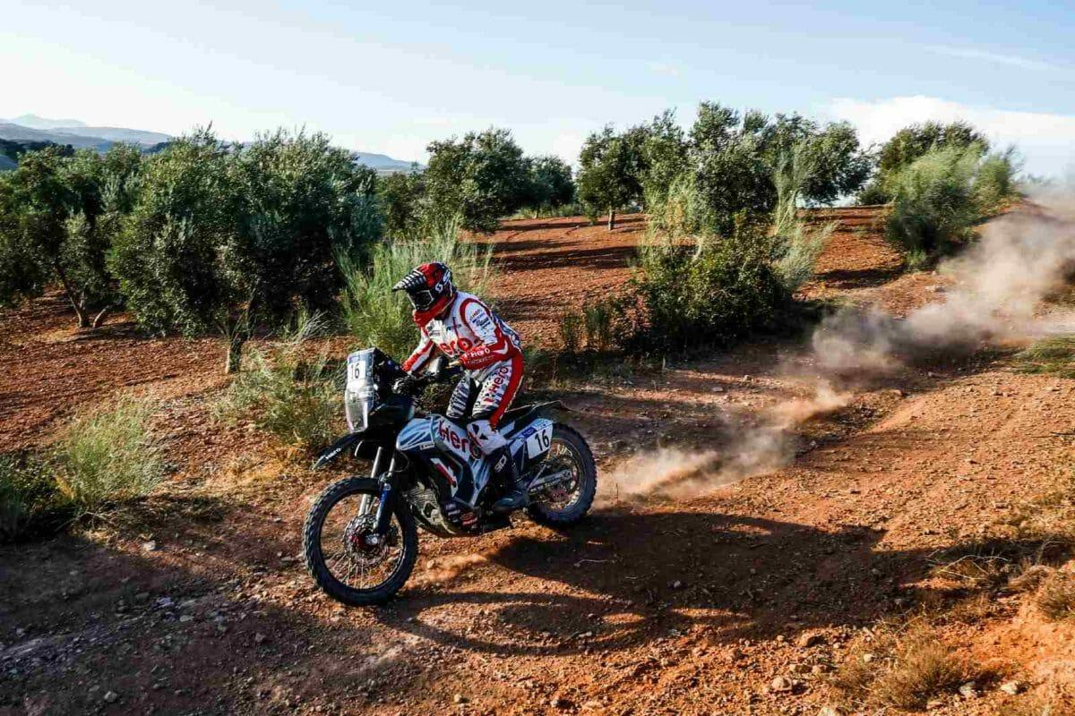 Hero MotoSports Team Rally rider, Sebastian Buhler. (1)