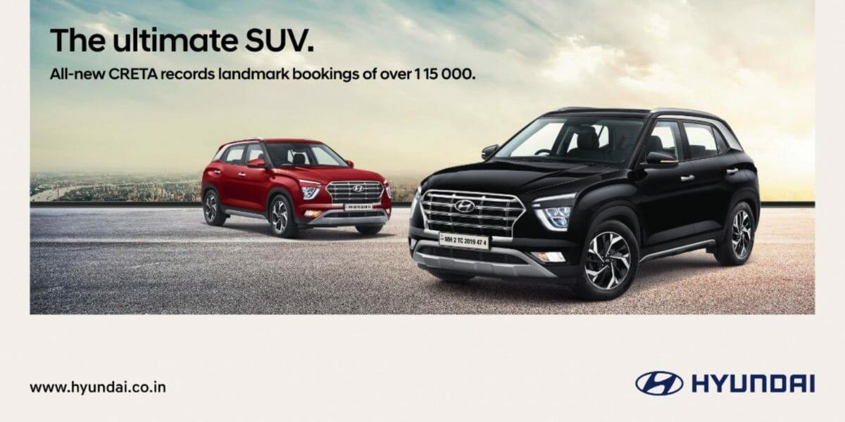 Hyundai creta landmark bookings
