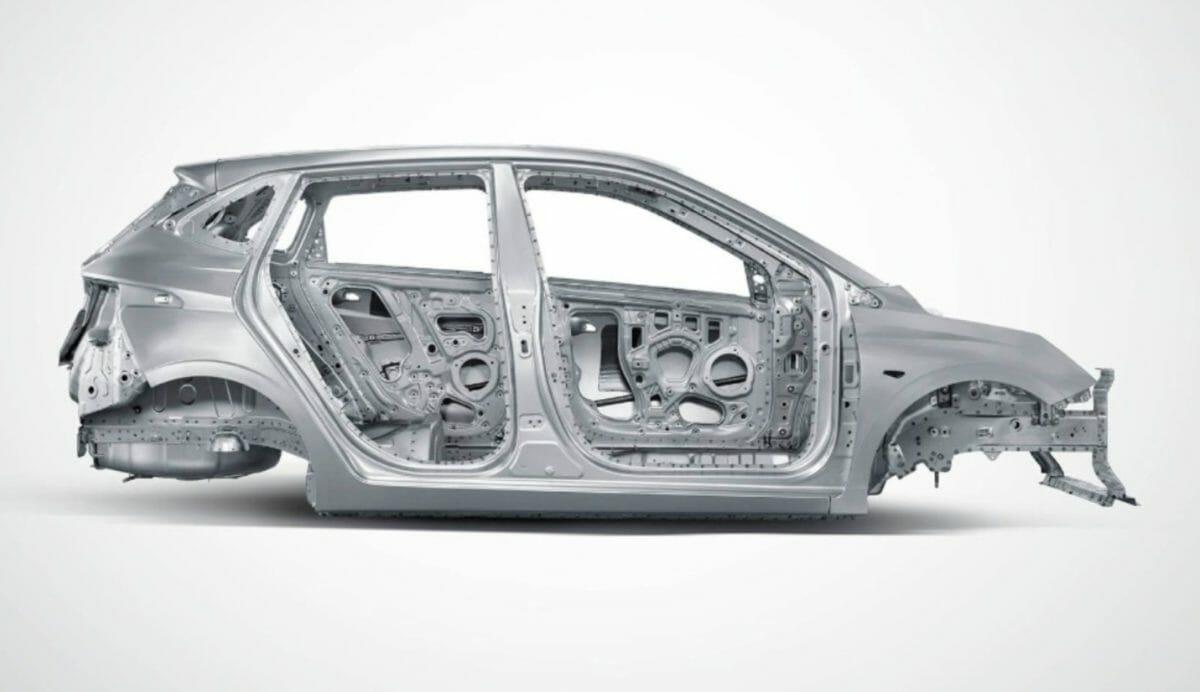 Hyundai i20 construction