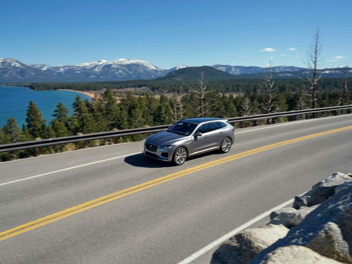 Jaguar F PACE on road (1)