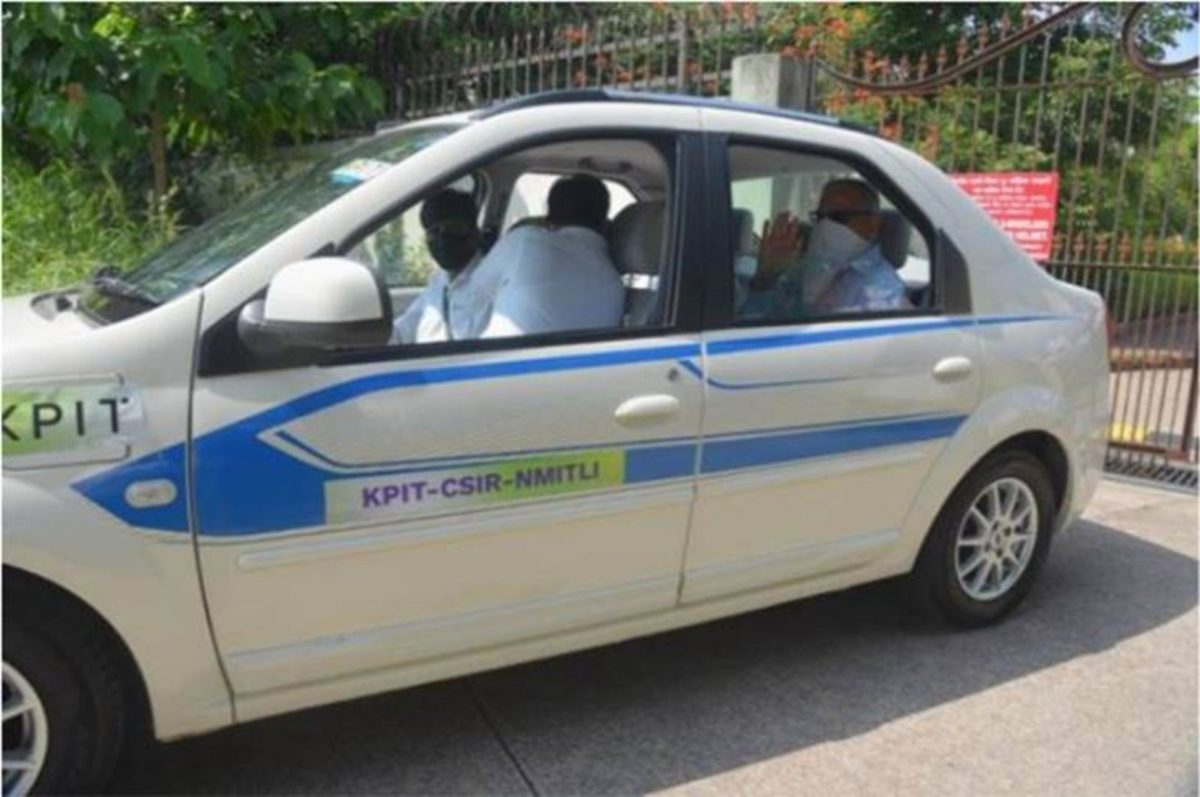 KPIT And CSIR Successfully Test India's First Indigenous Fuel Cell Vehicle Prototype (1)