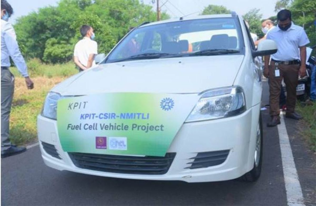 KPIT And CSIR Successfully Test India's First Indigenous Fuel Cell Vehicle Prototype (2)