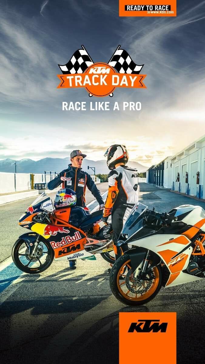 KTM India Track Day
