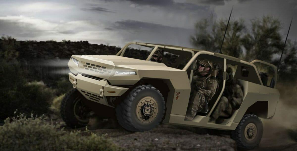 Kia Motors develops Military Standard Platform