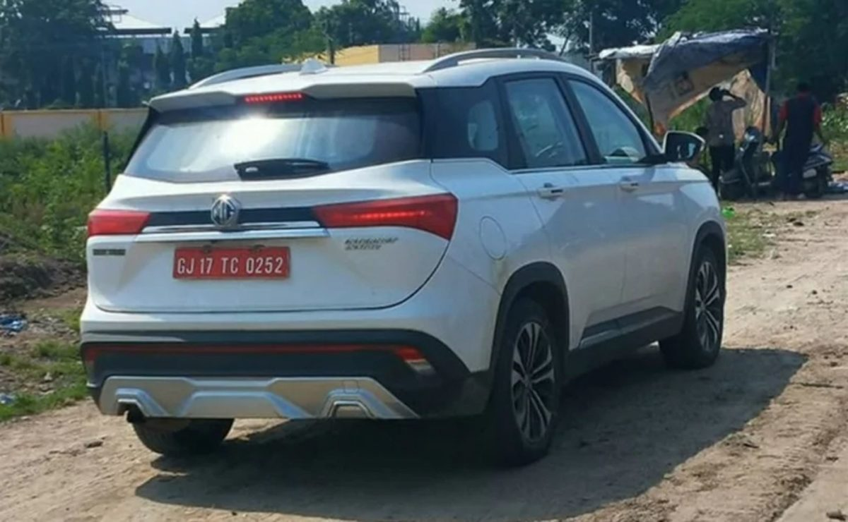 MG Hector facelift (1)