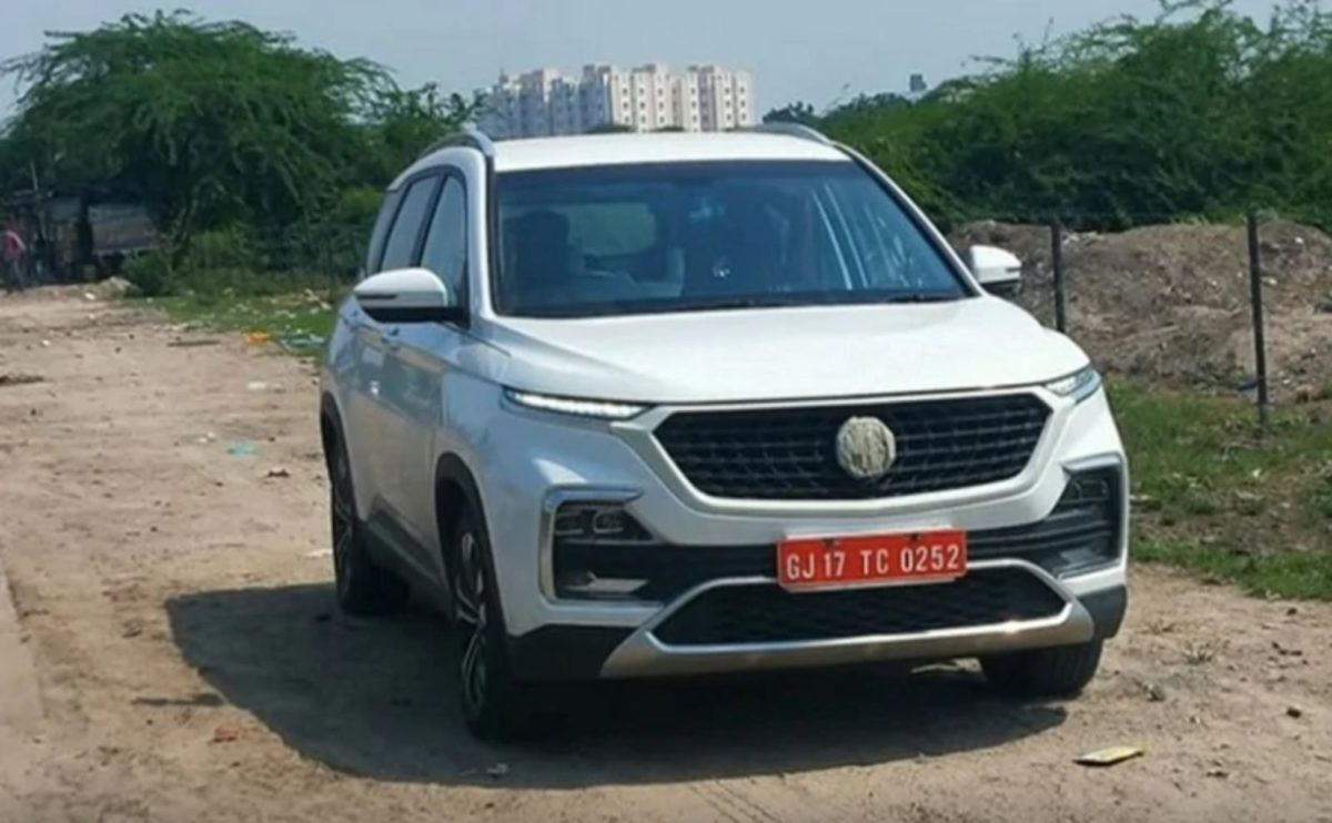 Mg Hector facelift (2)