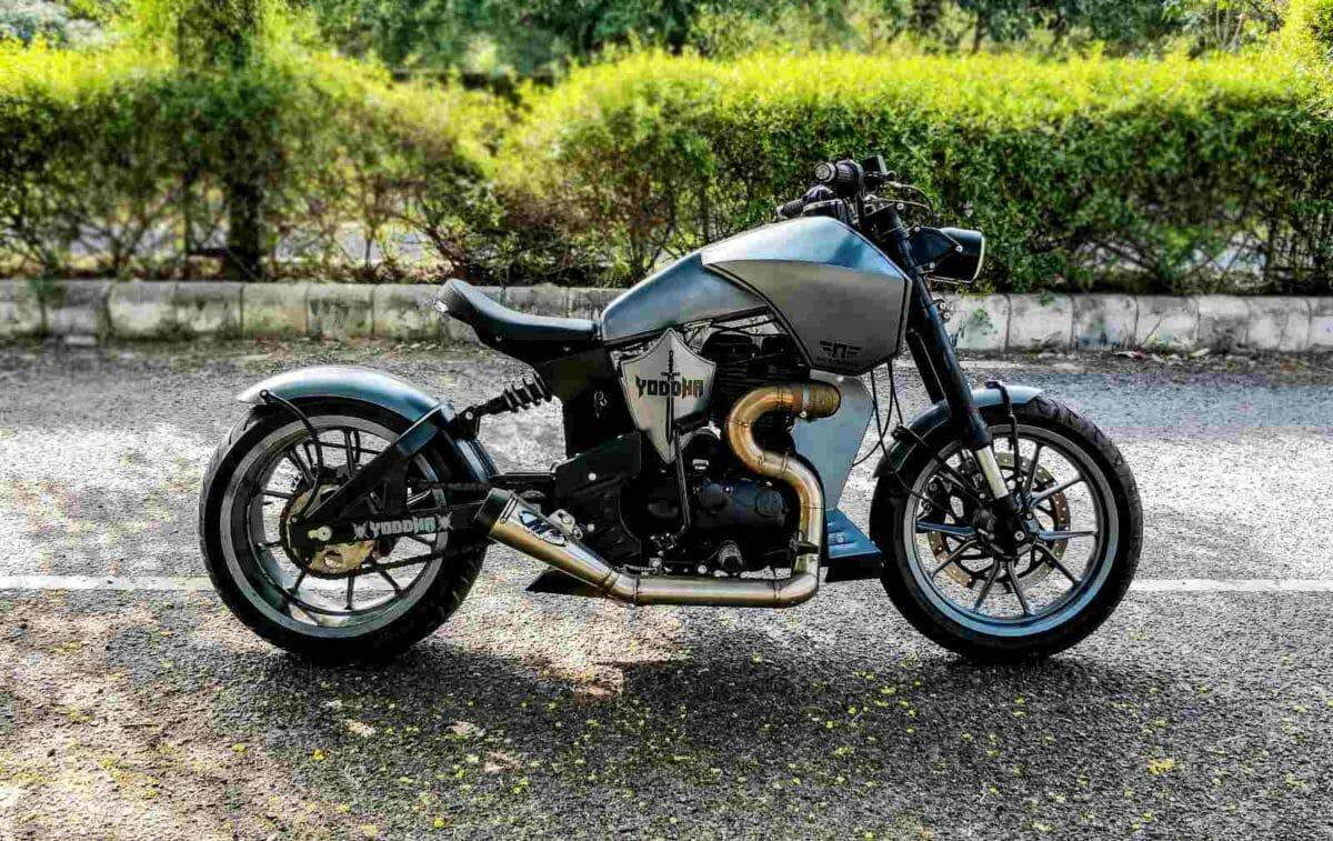 Neev Motorcycles Yodha custom RE Thunderbird 350 (1)