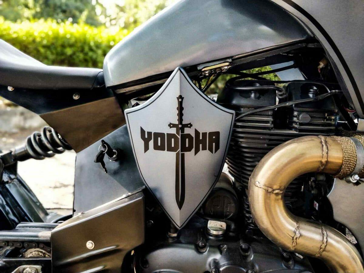 Neev Motorcycles Yodha custom RE Thunderbird 350 (2)