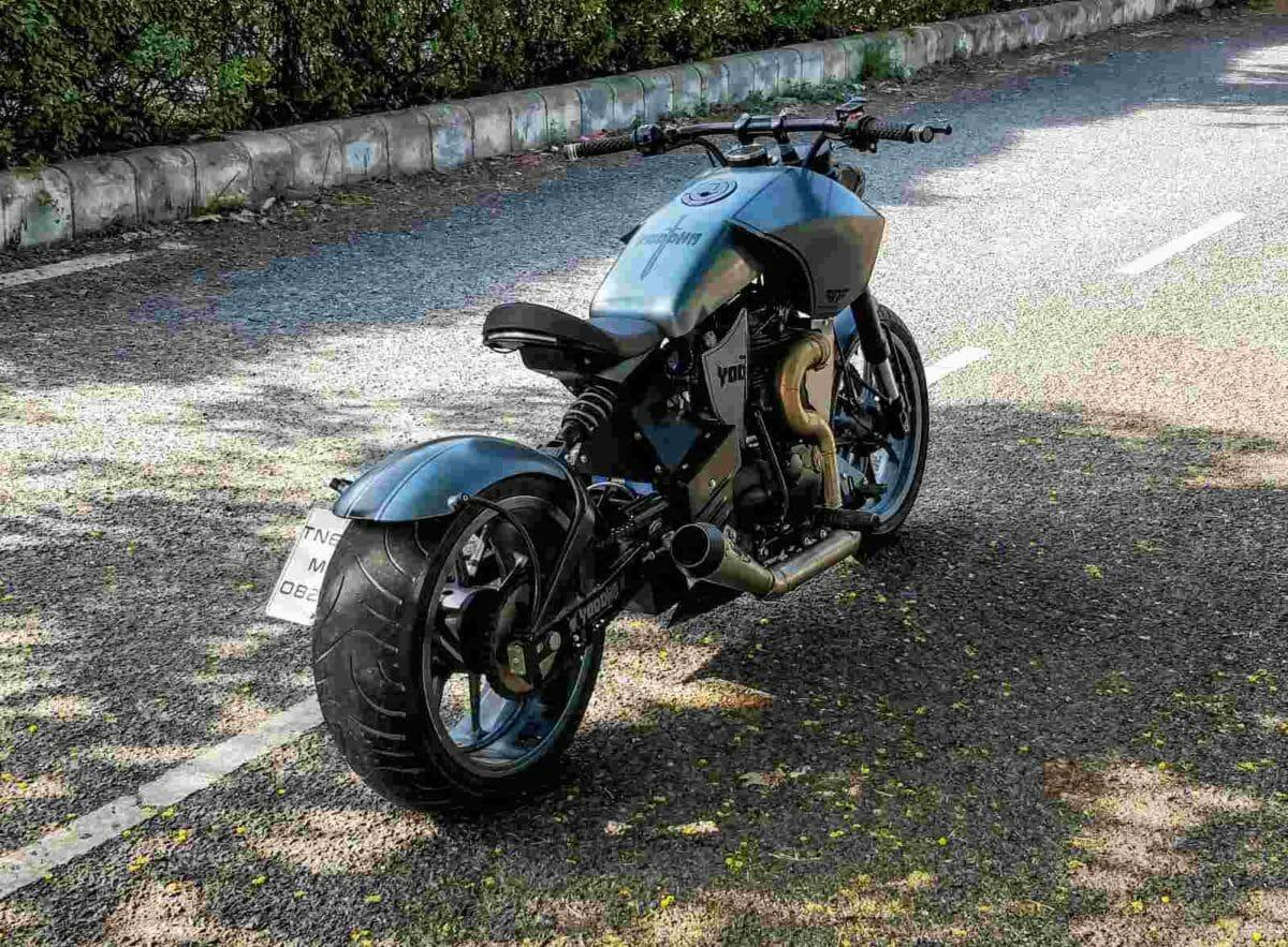 Neev Motorcycles Yodha custom RE Thunderbird 350 (3)