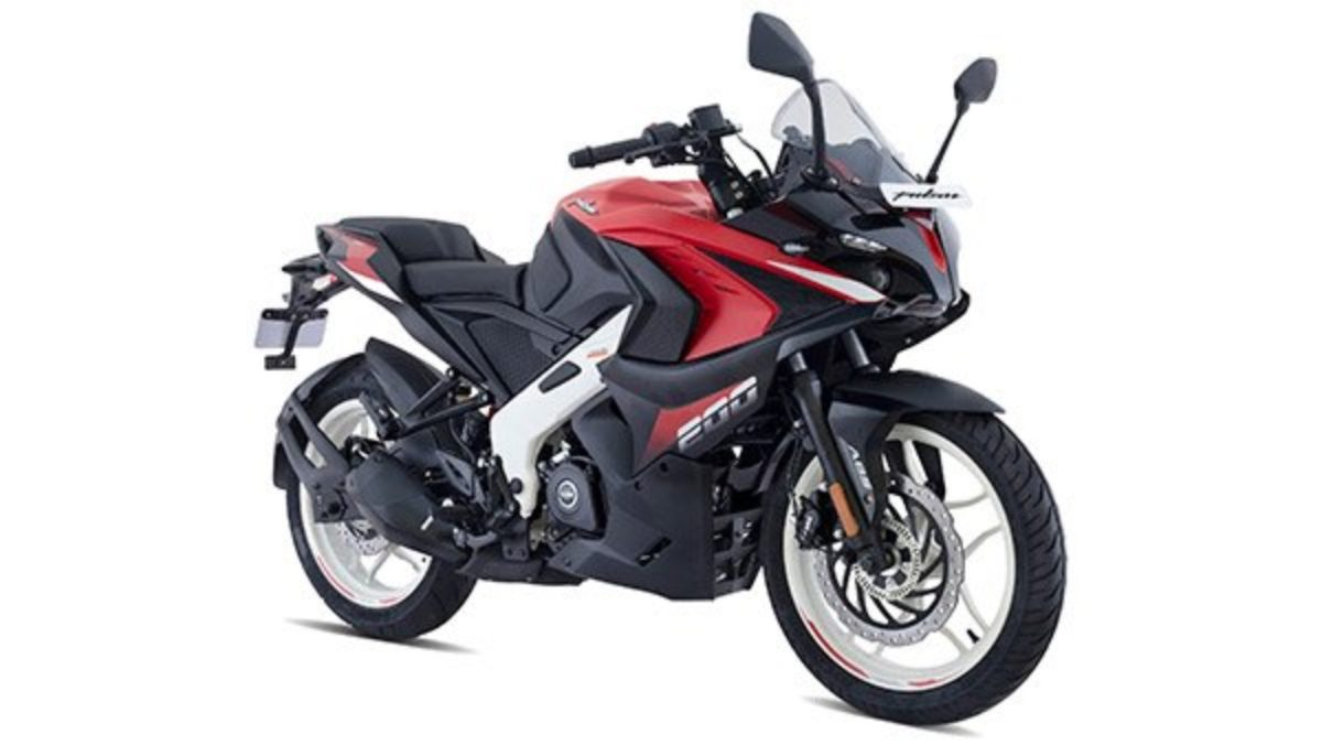 New Colours Bajaj Pulsar RS 200