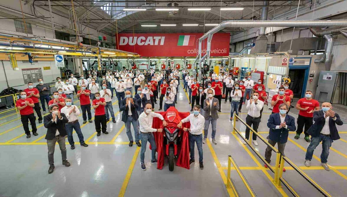 New Ducati Multistrada V4 development team