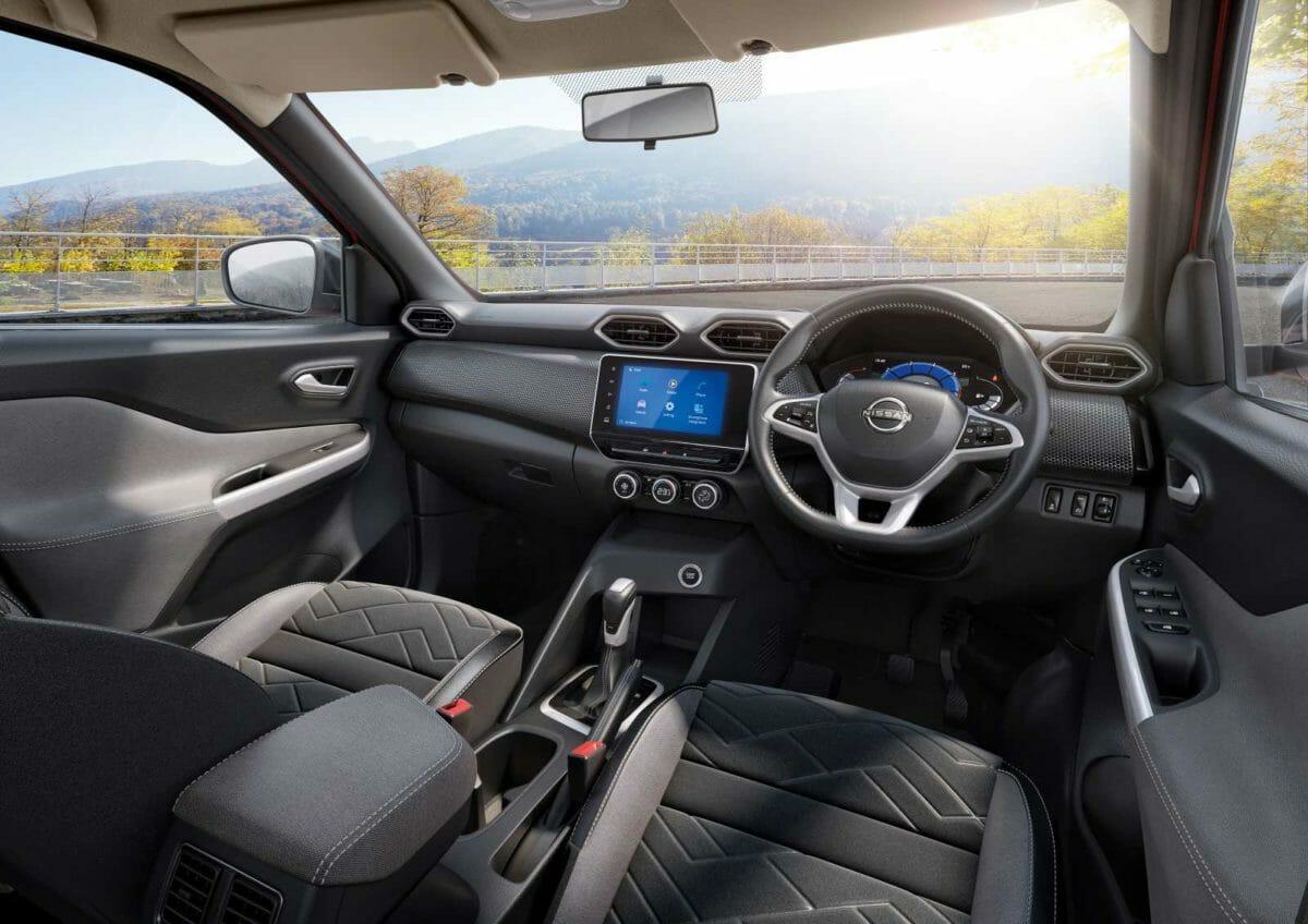 Nissan Magnite SUV interior