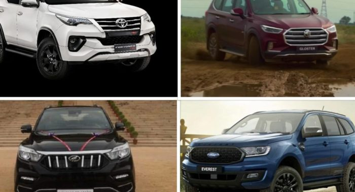 MG Gloster Vs Ford Endeavour Vs Toyota Fortuner: Price And ...