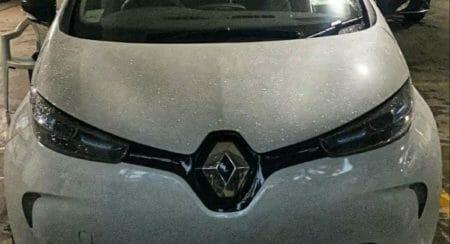 Renault Zoe EV Spied